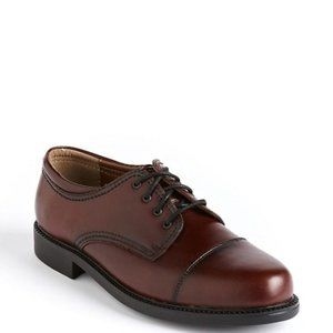 Docker's Brown Gordon Leather Lace Up Oxfords
